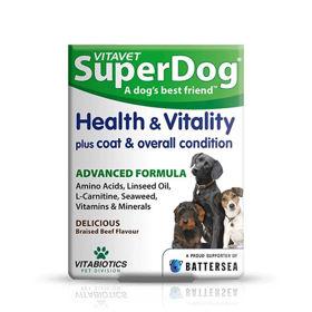 Slika VitaVet SuperDog Health and Vitality, 30 žvečljivih tablet