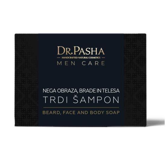 Dr. Pasha Men trdi šampon za brado, 100 g