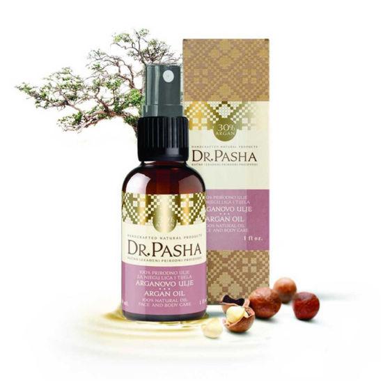 Dr. Pasha negovalno 30 % arganovo olje, 30 mL