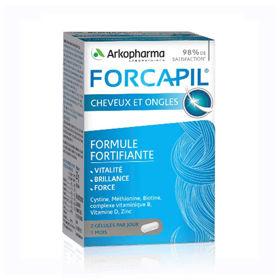 Slika Forcapil za lase in nohte, 60 kapsul