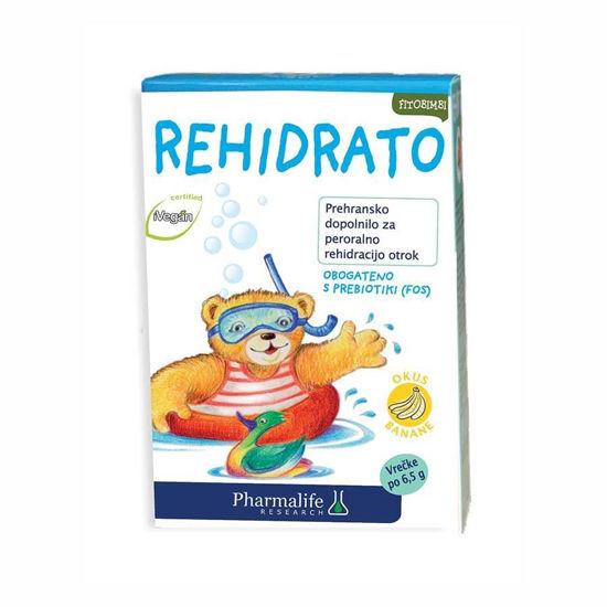 Rehidrato Fitobimbi raztopina za peroralno rehidracijo, 10x6,5 g