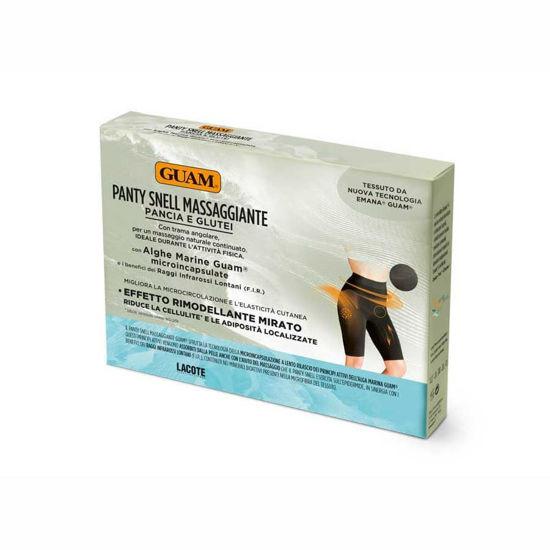Guam Leggings Kratke hlače z masažnim učinkom za trebuh, boke in zadnjico s preoblikovalnim efektom