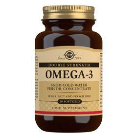 Slika Solgar Omega-3 Double Strength kapsule, 30 kapsul