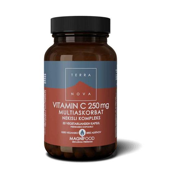TerraNova C vitamin - askorbinska kislina, 50 ali 100 kapsul