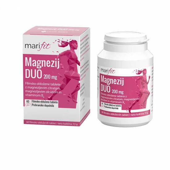 Marifit Magnezij DUO 200 mg, 60 filmsko obloženih tablet
