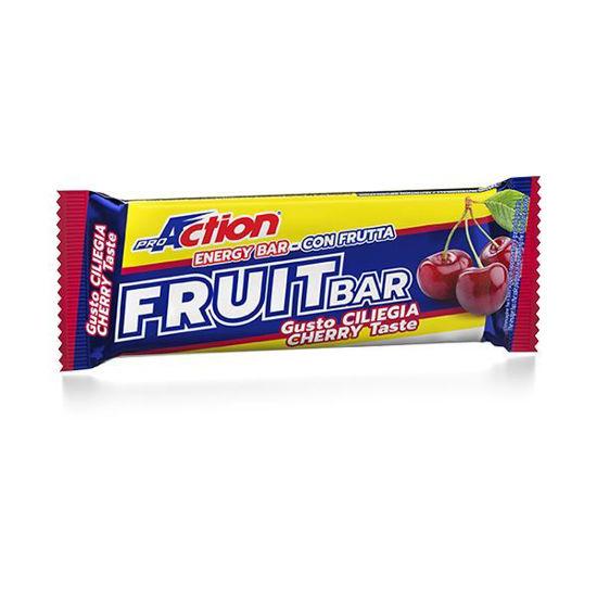 Fruit bar, energijska ploščica, 40 g, okus češnja