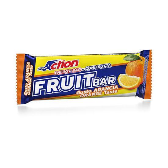 Fruit bar, energijska ploščica, 40 g, okus pomaranča
