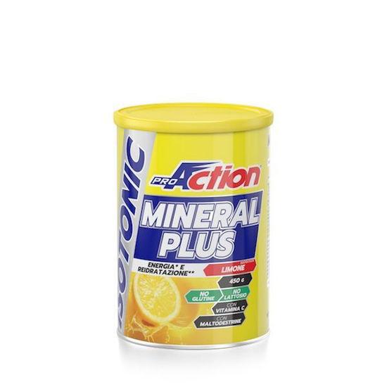 Mineral Plus izotonični napitek, 450 g, okus limona