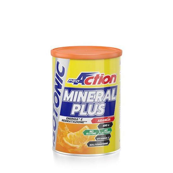 Mineral Plus izotonični napitek, 450 g, okus pomaranča
