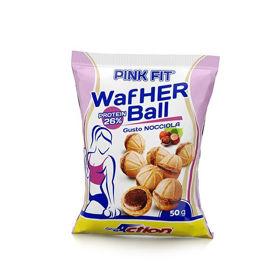 Slika PINK FIT® WAFHER BALL, okus: lešnik