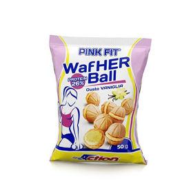 Slika PINK FIT® WAFHER BALL, okus: vanilija