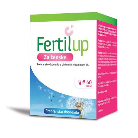 FertilUp kapsule za ženske, 60 kapsul