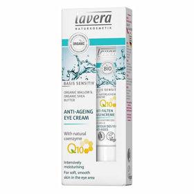 Slika Lavera basis Sensitive Q10 krema za okrog oči, 15 mL