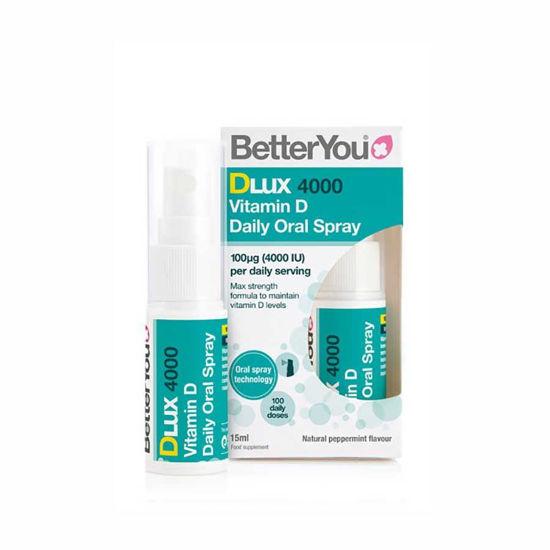 DLux 4000 ustno pršilo z D vitaminom, 15 mL