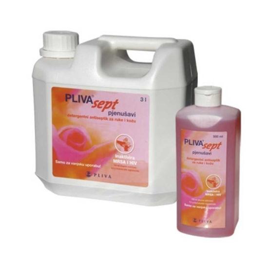 Plivasept peneči detergentni antiseptik, 500 mL