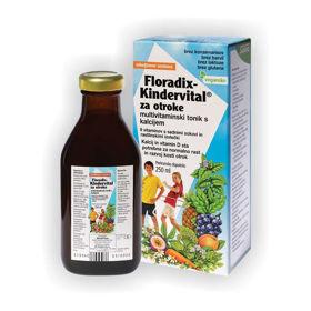 Slika Floradix Kindervital multivitaminski tonik, 250 mL