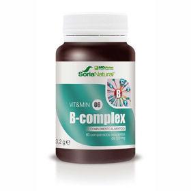 Slika Soria Natural vitamini B kompleks MegaDose, 60 tablet