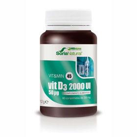 Slika Soria Natural Vitamin D3 MegaDose, 60 tablet