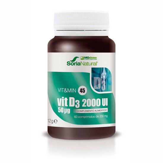 Soria Natural Vitamin D3 MegaDose, 60 tablet