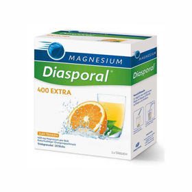 Slika Magnesium diasporal 400 extra z okusom pomaranče, 50 vrečk