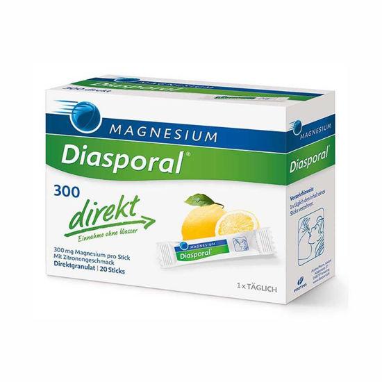 Magnesium Diasporal 300 Direkt granulat,  20 vrečk