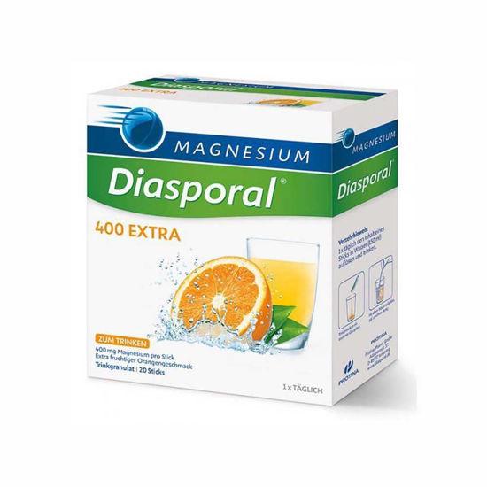 Magnesium diasporal 400 extra z okusom pomaranče, 20 vrečk