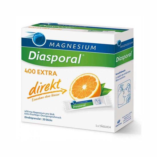 Magnesium Diasporal 400 extra direkt granule, 20 vrečk