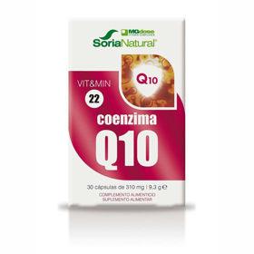 Slika Soria Natural Koencim Q10 MegaDose, 30 kapsul