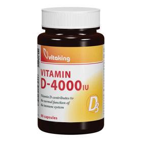 Slika VitaKing vitamin D3 4000 IU, 90 kapsul