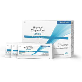 Slika Biomax liposomski magnezij + prebiotiki, 30 vrečk