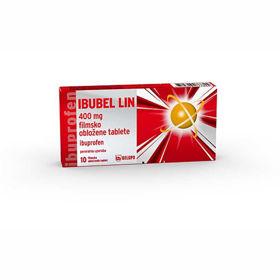 Slika Ibubel LIN 200 ali 400 mg tablete, 10 obloženih tablet