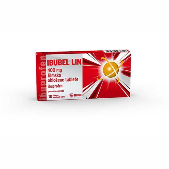 Ibubel LIN 200 ali 400 mg tablete, 10 obloženih tablet