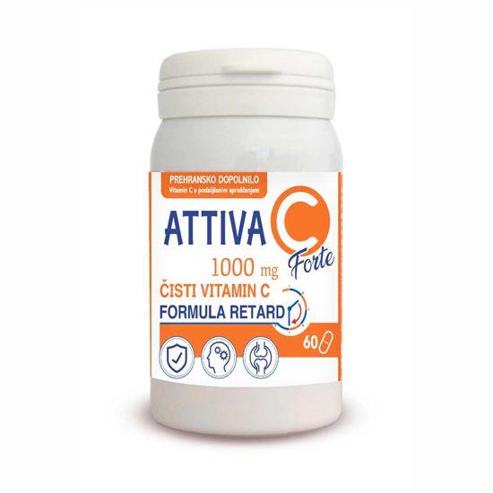 Attiva vitamin C Forte 1000 mg, 60 tablet