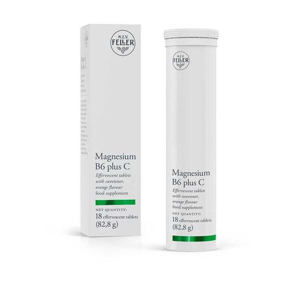 M.E.V. Feller Magnezij B6 plus C, 18 šumečih tablet