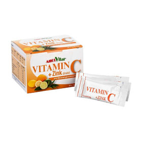 Slika Amos Vital vitamin C + Cink direkt, 30 vrečk