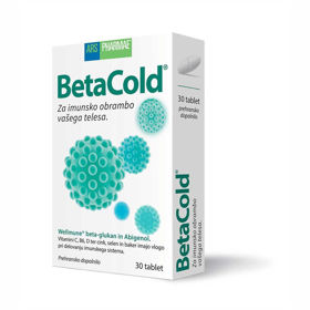 Slika BetaCold Betaglucan forte, 30 tablet