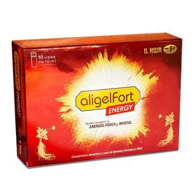 Slika Aligel Fort Energija - korenina azijskega ginsenga fiole, 10x10 mL