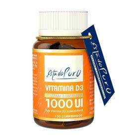 Slika Estado Puro Vitamin D3 1000 UI, 100 tablet