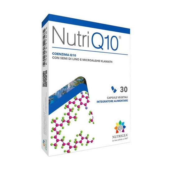 NutriQ10 s klamatsko algo in koencimom Q10, 30 kapsul