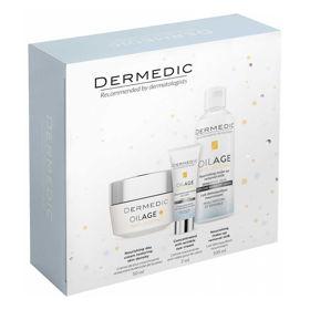 Slika Dermedic Oilage darilni set, 100 + 50 + 7 mL