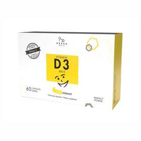 Slika D vitamin Herba medica, 60 kapsul