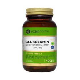 Slika VONpharma Glukozamin in Hondrotoin z MSM, 120 tablet