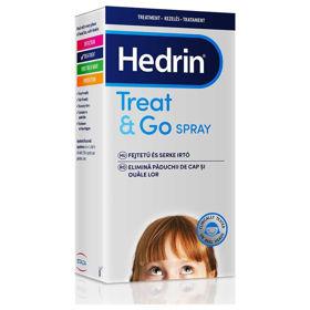 Slika Hedrin Treat&Go pršilo za odstranjevanje uši in gnid, 60 mL