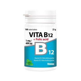 Slika Vita B12 + folna kislina, 100 tablet