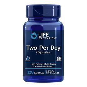 Slika LifeExtension Two-Per-Day multivitamini in minerali, 60 ali 120 tablet