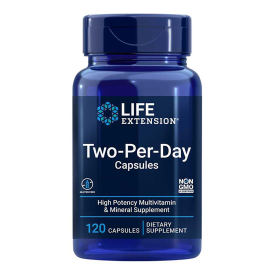 LifeExtension Two-Per-Day multivitamini in minerali, 60 ali 120 tablet