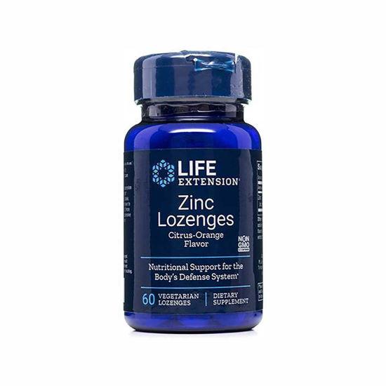 LifeExtension Zinc cinkove pastile, 60 pastil