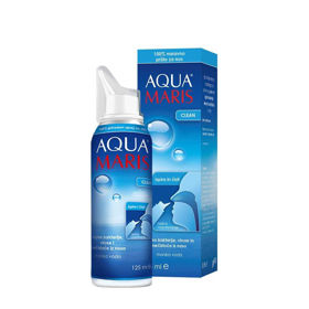 Slika Aqua Maris Clean pršilo za nos, 125 mL