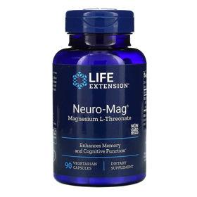 Slika Life Extension Nevro-magnezij, 90 kapsul