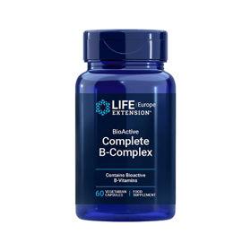 Slika LifeExtension B kompleks v bioaktivni obliki, 60 kapsul